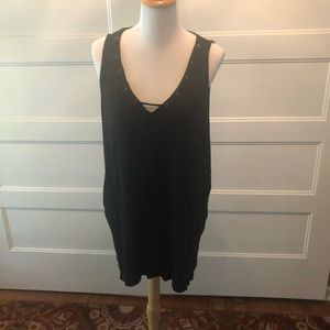 Maurice's sleeveless tee size 2X black